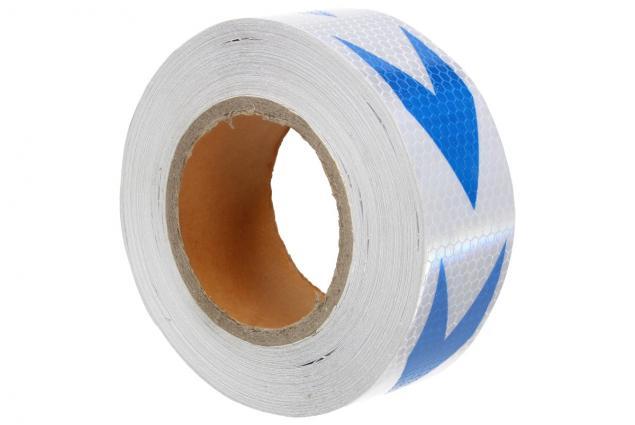 Foto 7 - Reflexní lepící páska 25m šipky