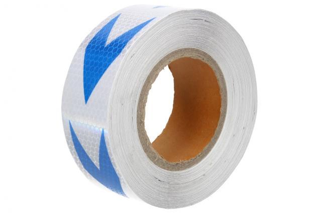 Foto 9 - Reflexní lepící páska 25m šipky