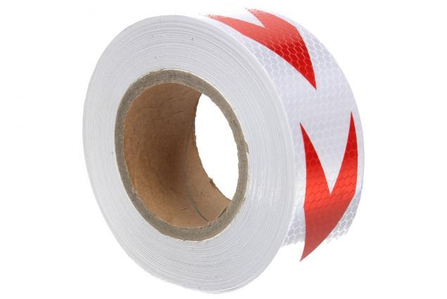 Foto 10 - Reflexní lepící páska 25m šipky