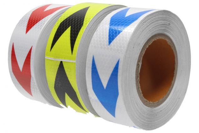 Foto 14 - Reflexní lepící páska 25m šipky