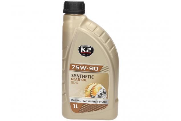 Foto 2 - K2 75W-90 1 l - syntetický převodový olej GL-5