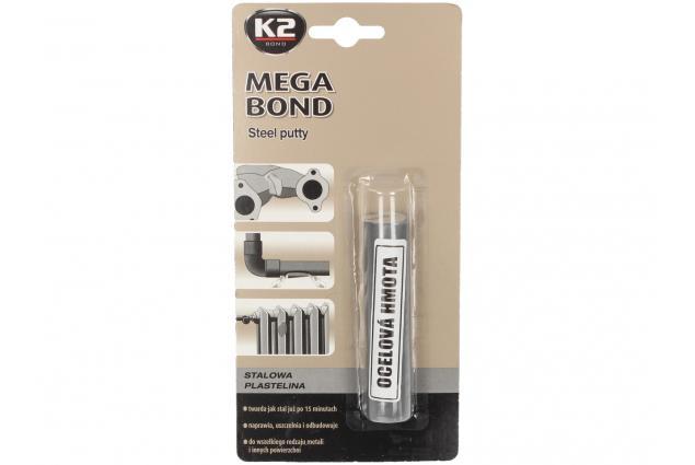 Foto 2 - K2 MEGA BOND 60 g - ocelová plastelína na opravu