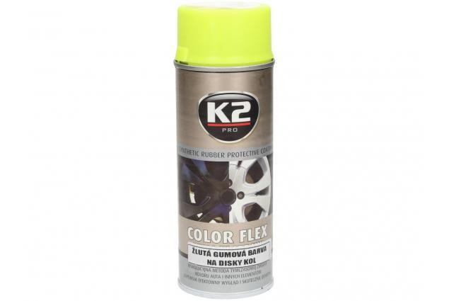 Foto 2 - K2 COLOR FLEX 400 ml - gumová barva na disky kol