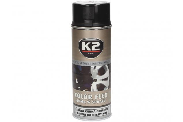 Foto 3 - K2 COLOR FLEX 400 ml - gumová barva na disky kol