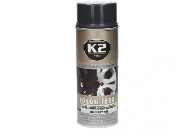 Foto 4 - K2 COLOR FLEX 400 ml - gumová barva na disky kol