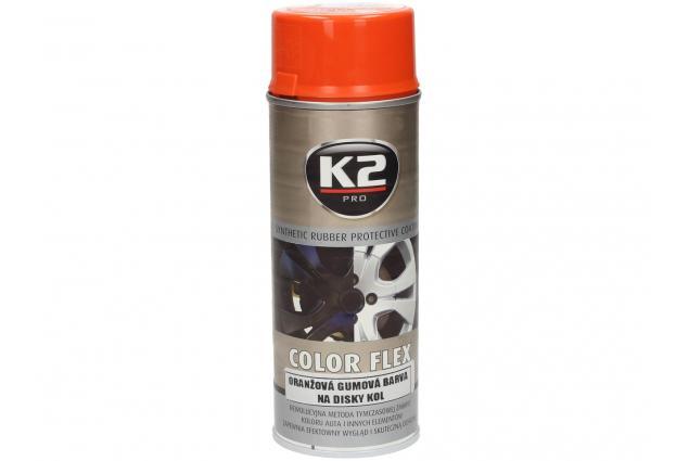 Foto 6 - K2 COLOR FLEX 400 ml - gumová barva na disky kol