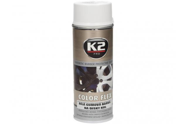 Foto 7 - K2 COLOR FLEX 400 ml - gumová barva na disky kol