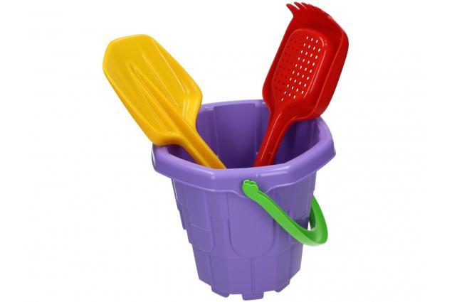 Foto 6 - Souprava kyblík, hrabičky a lopatička na písek