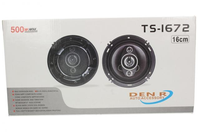 Foto 7 - Reproduktory TP-1672 kulatý 16 cm 500w sada 2 kusy