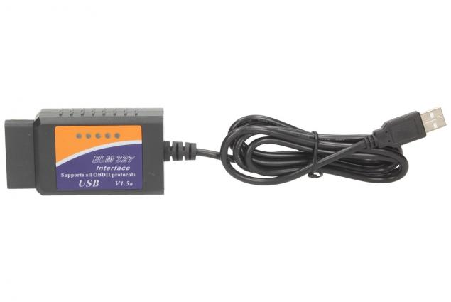 Foto 2 - Adaptér ELM 327 USB Kabel OBD II V1.5a