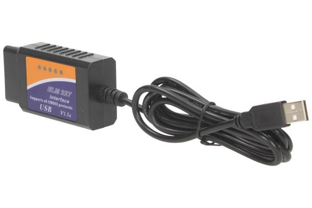 Foto 3 - Adaptér ELM 327 USB Kabel OBD II V1.5a