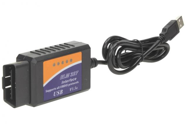 Foto 7 - Adaptér ELM 327 USB Kabel OBD II V1.5a