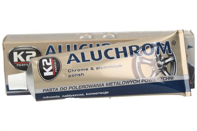 Foto 2 - K2 ALUCHROM - pasta na čištění a leštění kovových povrchů