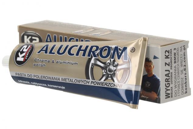 Foto 3 - K2 ALUCHROM - pasta na čištění a leštění kovových povrchů