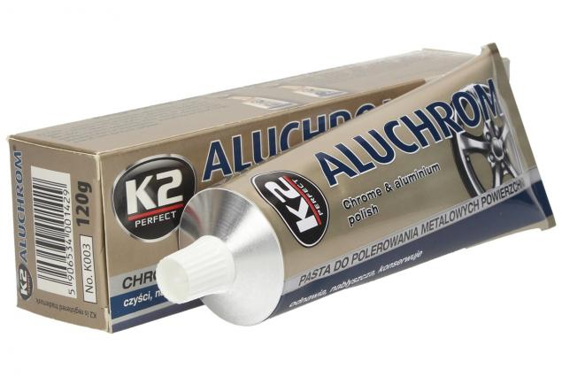 Foto 4 - K2 ALUCHROM - pasta na čištění a leštění kovových povrchů