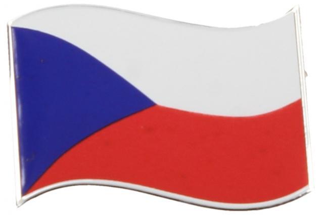 Foto 2 - Kovová samolepka Vlajka ČR 8cm x 5,5cm