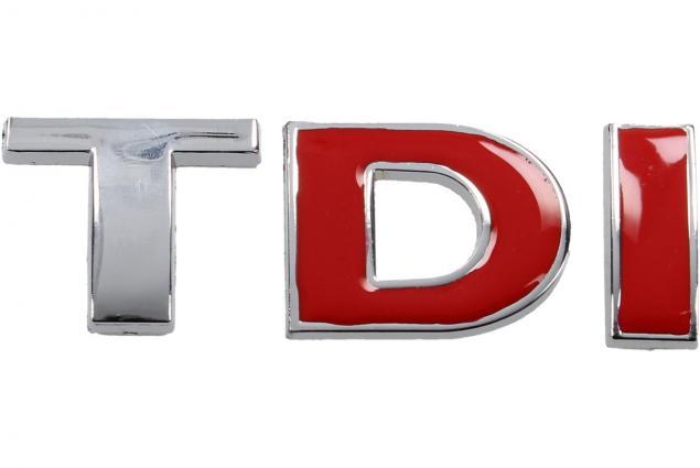 Foto 4 - Kovová samolepka TDI 8,5cm x 3,5cm