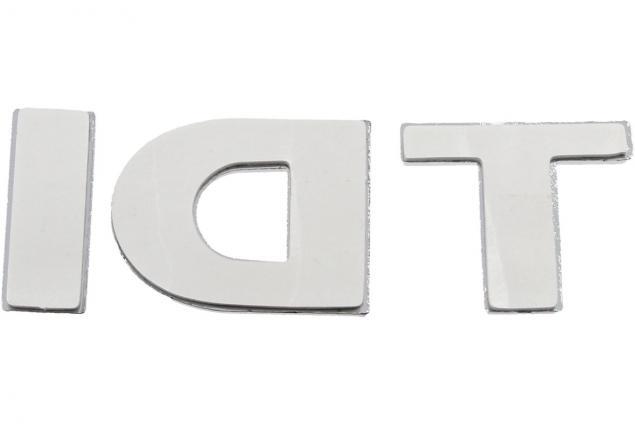 Foto 6 - Kovová samolepka TDI 8,5cm x 3,5cm