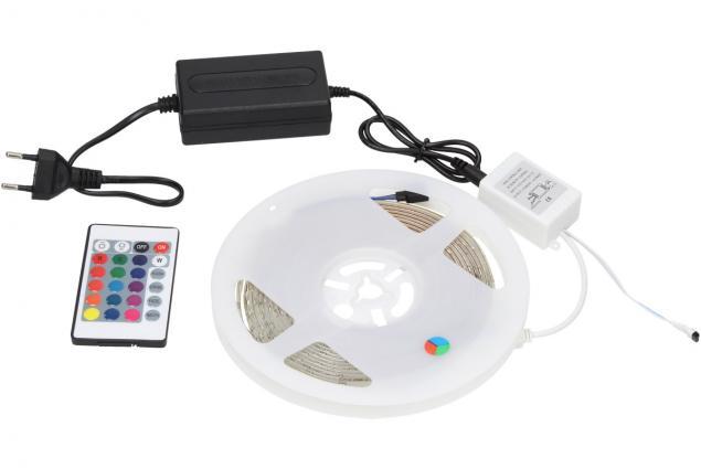 Foto 6 - LED pásek RGB 3528 5m na dálkové ovládání