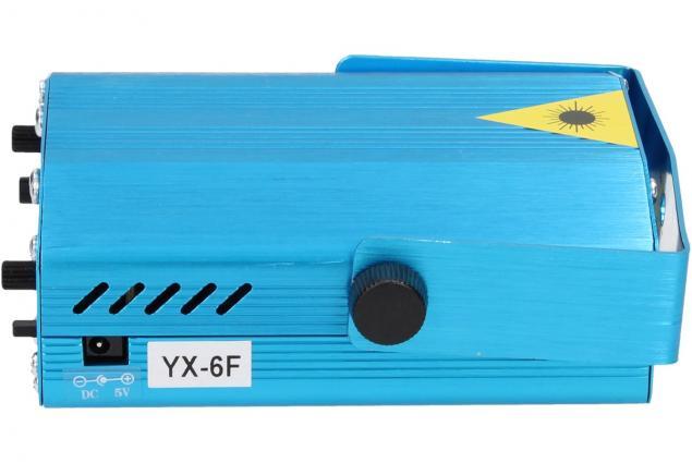 Foto 6 - Mini laserový projektor