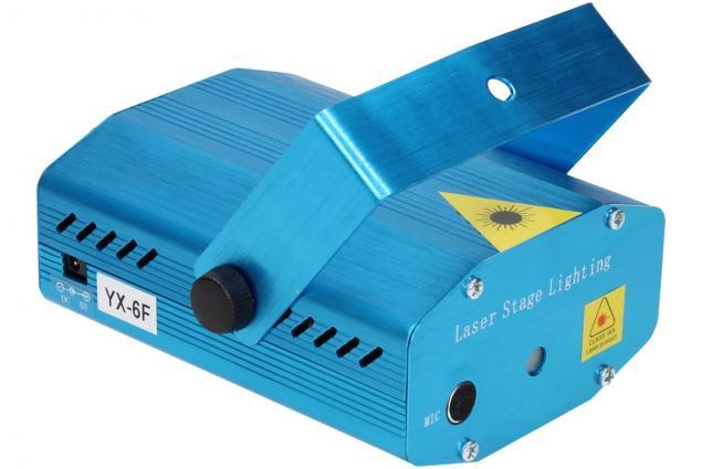 Foto 8 - Mini laserový projektor