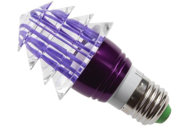 Foto 2 - LED tvarová RGB žárovka 3W na ovládání