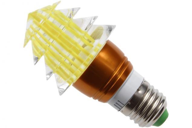 Foto 3 - LED tvarová RGB žárovka 3W na ovládání