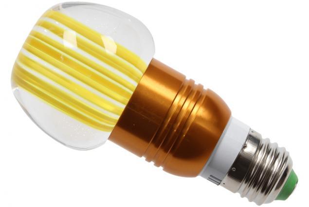 Foto 4 - LED tvarová RGB žárovka 3W na ovládání