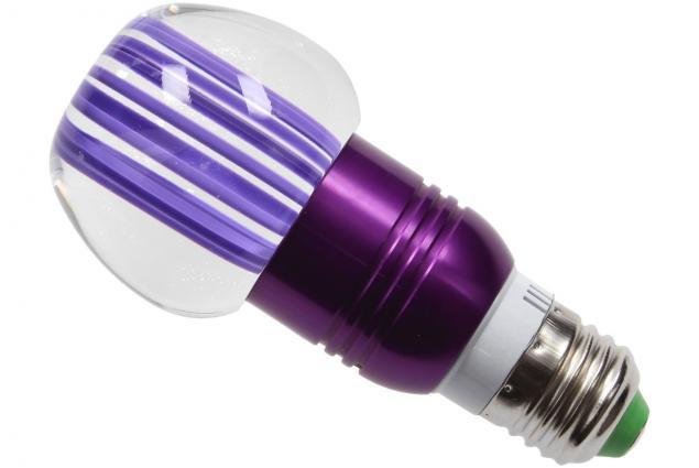 Foto 5 - LED tvarová RGB žárovka 3W na ovládání