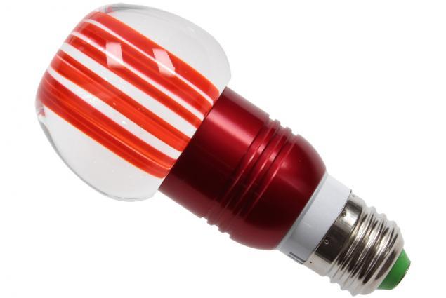 Foto 6 - LED tvarová RGB žárovka 3W na ovládání