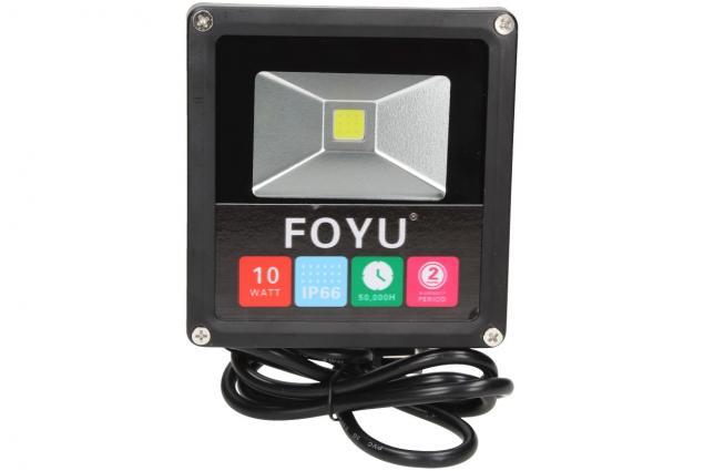Foto 2 - FOYU LED reflektor 10W plochý