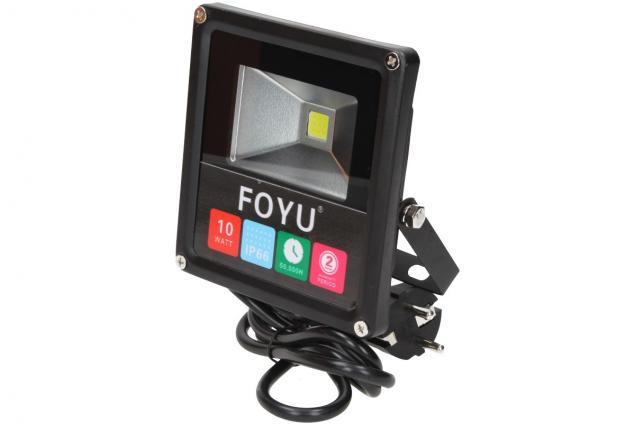 Foto 3 - FOYU LED reflektor 10W plochý