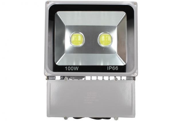 Foto 2 - LED výkonný reflektor 100W plochý