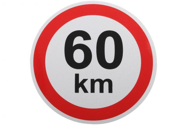 Foto 3 - Samolepka na auto omezení rychlosti