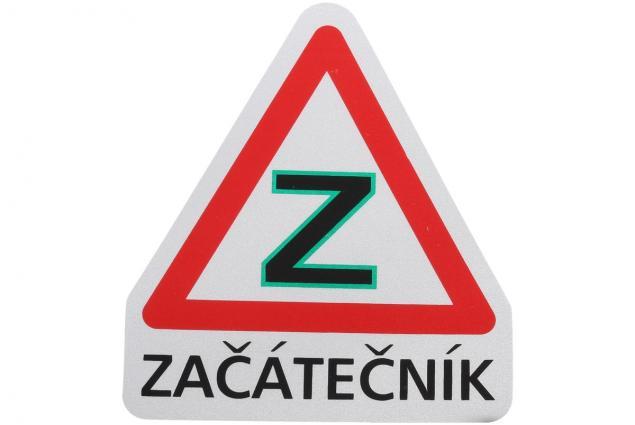Foto 3 - Samolepka na auto ZAČÁTEČNÍK