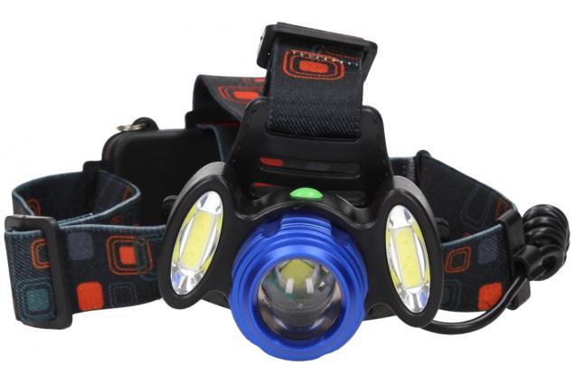 Foto 3 - Nabíjecí výkonná čelovka HEADLIGHT se třemi světlomety