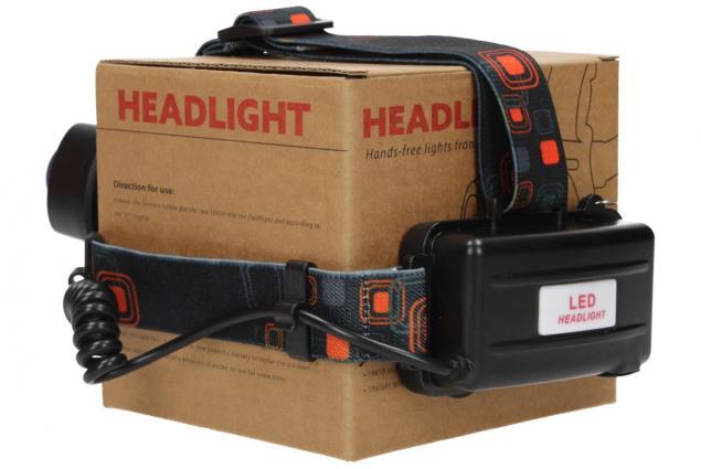 Foto 7 - Nabíjecí výkonná čelovka HEADLIGHT se třemi světlomety