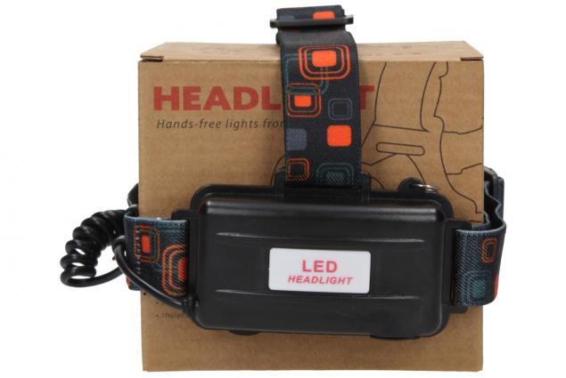 Foto 8 - Nabíjecí výkonná čelovka HEADLIGHT se třemi světlomety