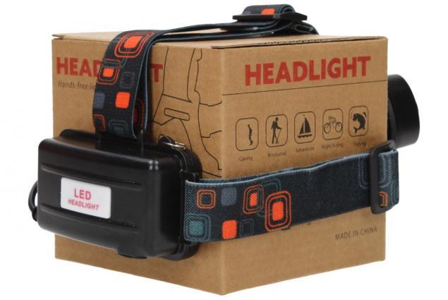 Foto 9 - Nabíjecí výkonná čelovka HEADLIGHT se třemi světlomety