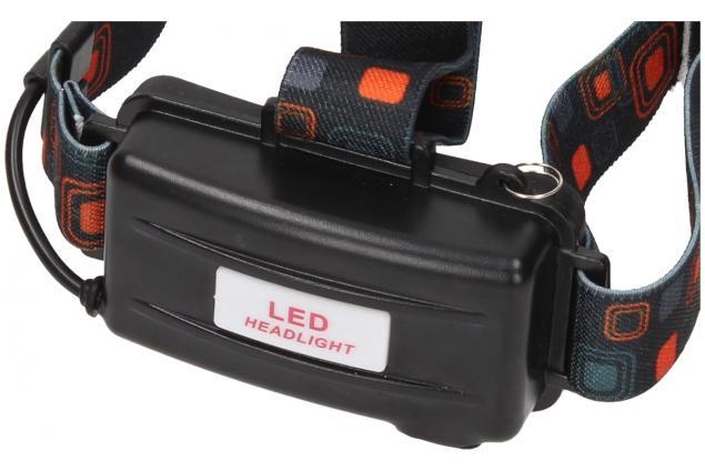 Foto 11 - Nabíjecí výkonná čelovka HEADLIGHT se třemi světlomety