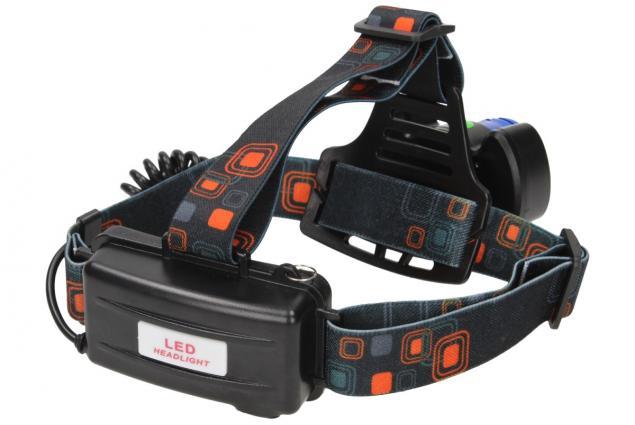Foto 13 - Nabíjecí výkonná čelovka HEADLIGHT se třemi světlomety