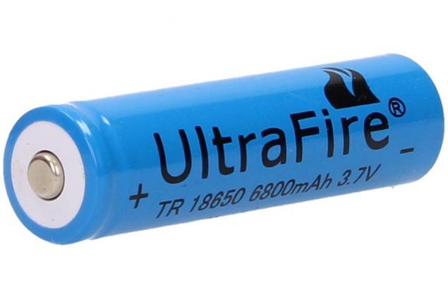 Foto 2 - Dobíjecí baterie Ultra Fire 6800mAh 3.7V