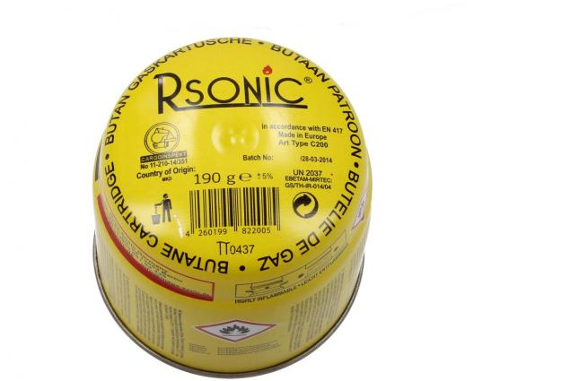 Foto 3 -  Plynová propichovací kartuše Rsonic