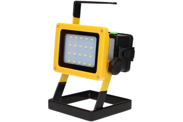 Foto 5 - Přenosný nabíjecí LED reflektor 10W 20 cree LED