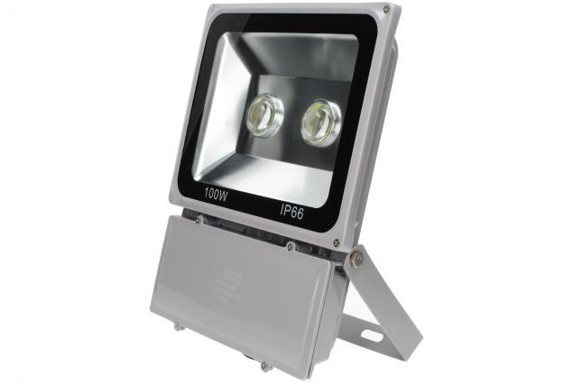 Foto 3 - LED výkonný reflektor 100W plochý
