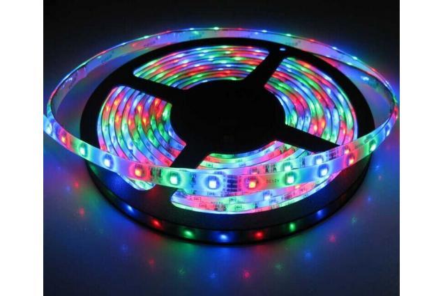 Foto 2 - LED pásek RGB 3528 5m na dálkové ovládání