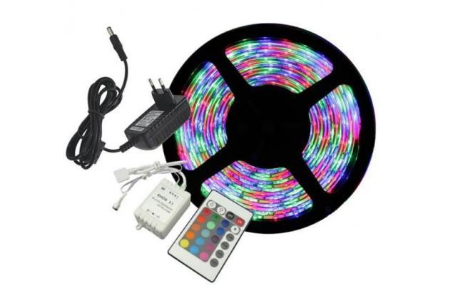 Foto 5 - LED pásek RGB 3528 5m na dálkové ovládání