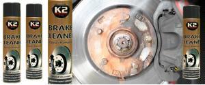 K2 BRAKE CLEANER 600 ml - čistič brzd