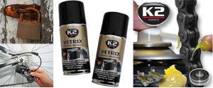 K2 VETRIX 125 ml - technická tekutá vazelína ve spreji