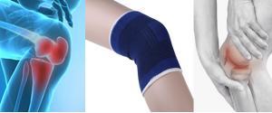 Elastická bandáž kolenní - sada 2 kusů